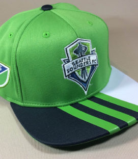 Seattle Sounders Adidas snap back cap