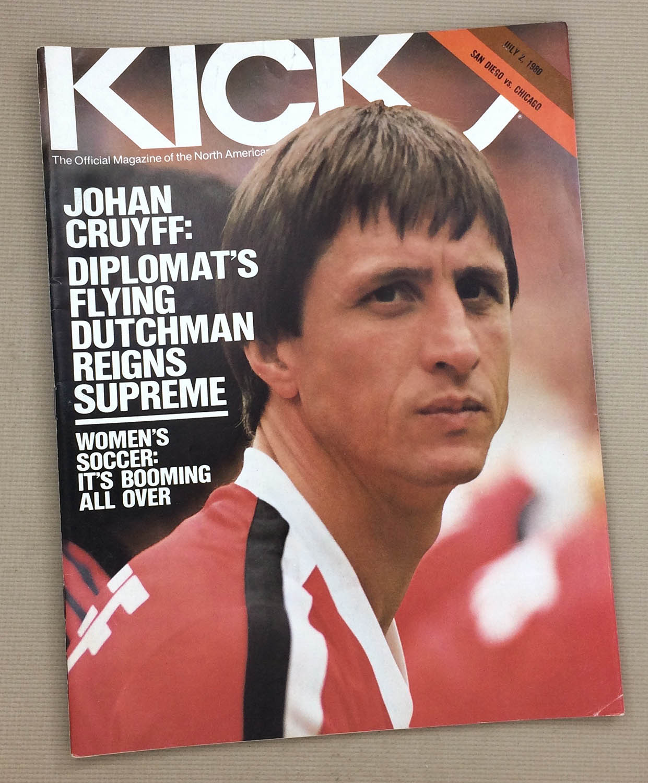 Kick Magazine Sockers Sting 1980 Program
