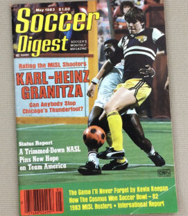 Soccer Digest May 1983 Issue