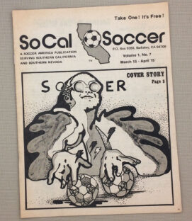 SoCal Soccer Magazine April 1976 Issue