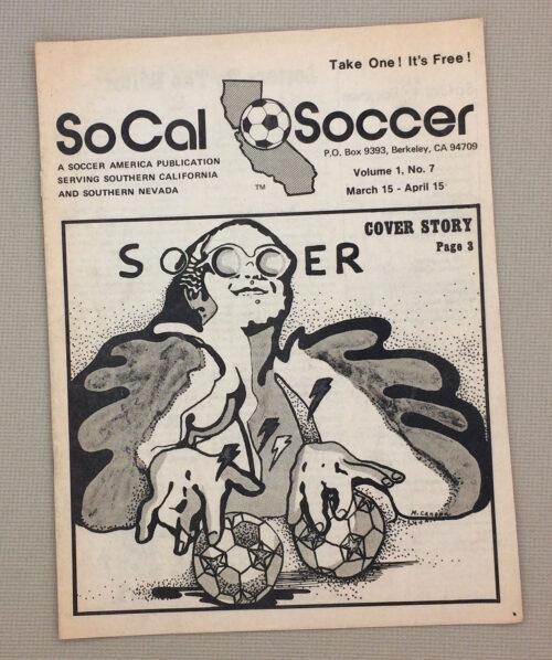 SoCal Soccer Magazine April 1976 Issue