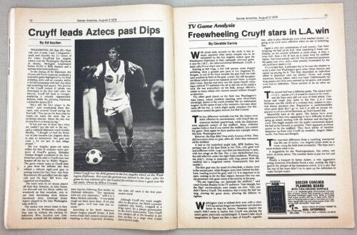 Soccer America 1979 Cruyff Aztecs