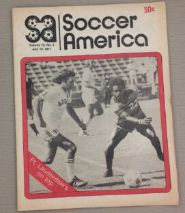Soccer America July 19th 1977 Issue