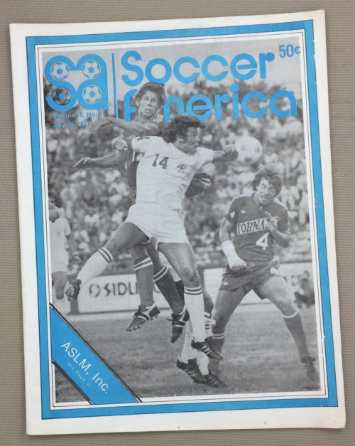 Soccer America July 26 1977 Issue