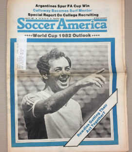 Soccer America May, 21, 1981 Issue