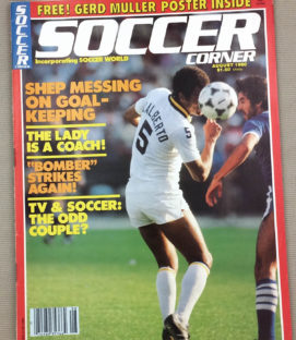 Soccer Corner Magazine August 1980