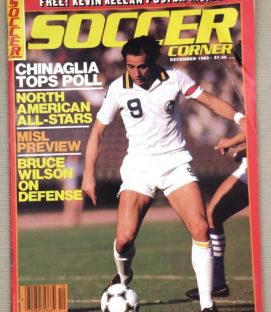 Soccer Corner Magazine December 1980