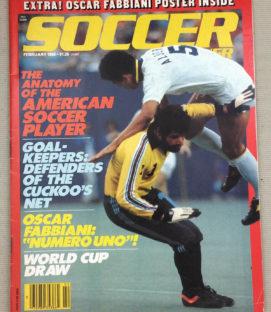 Soccer Corner Magazine February 1980