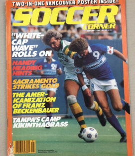 Soccer Corner Magazine January 1980
