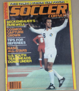 Soccer Corner Magazine January 1981 Issue