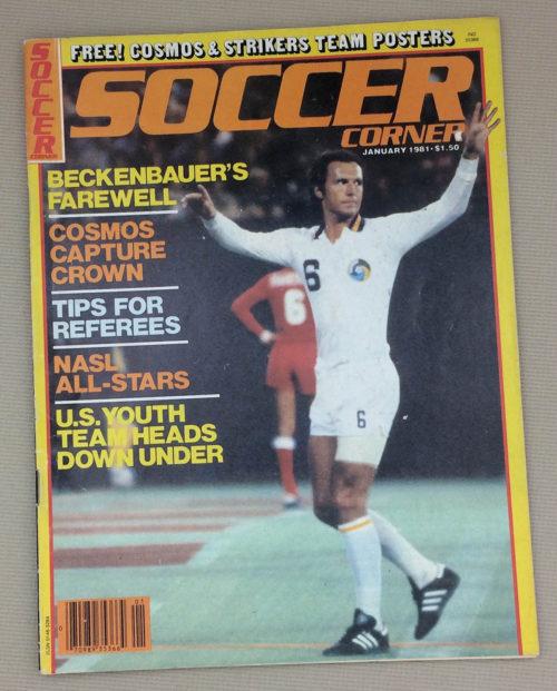 Soccer Corner Magazine January 1981 Issue