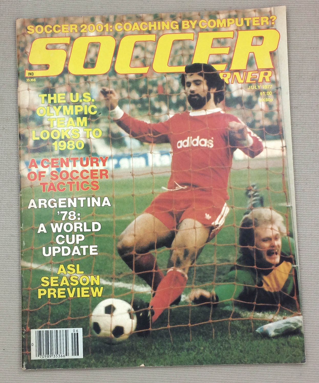 Soccer Corner Magazine July 1977
