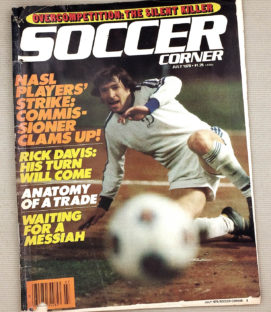 Soccer Corner Magazine July 1979 Issue
