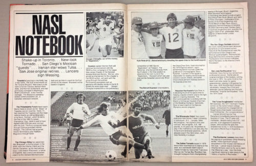 NASL Notebook July 1979