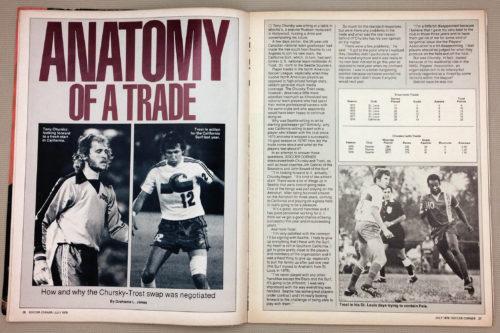 Tony Chursky Al Trost trade