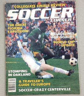 Soccer Corner Magazine April 1978