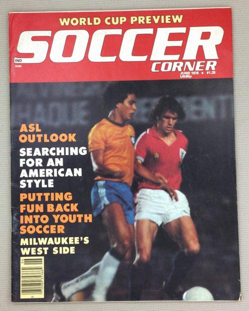Soccer Corner Magazine June 1978