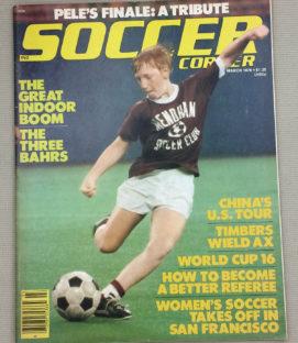 Soccer Corner Magazine March 1978