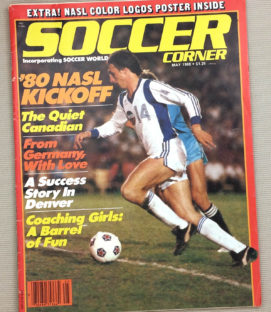 Soccer Corner Magazine May 1980 Issue