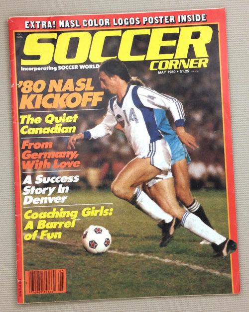 Soccer Corner Magazine May 1980 Issue