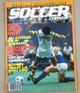 Soccer Corner Magazine March 1980