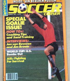 Soccer Corner Magazine March 1981