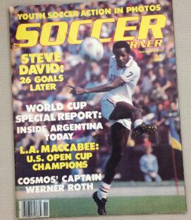 Soccer Corner Magazine November 1977