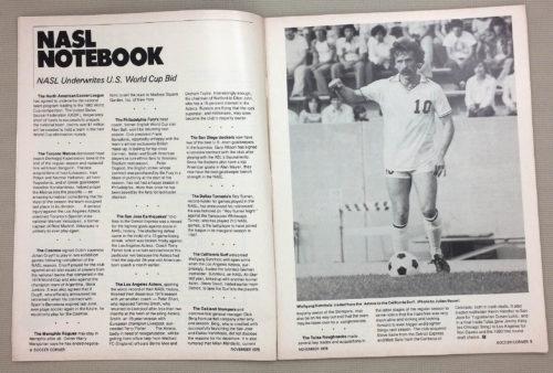 NASL Notebook November 1978