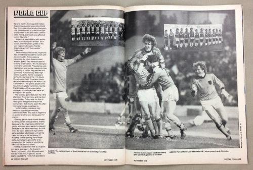 Argentina '78 World Cup Netherlands and Peru