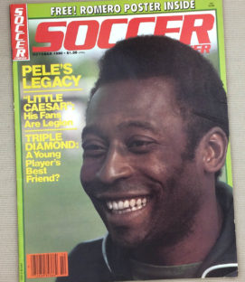 Soccer Corner Magazine October 1980