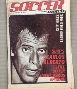 Soccer Match Magazine Carlos Alberto