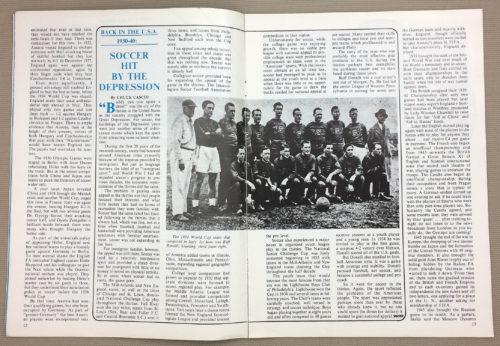 Soccer in the USA 1930-40