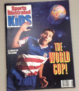 1990 SI Kids Featuring USA Hero Paul Caligiuri