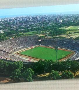 Estadio Centenario Uruguay Postcard
