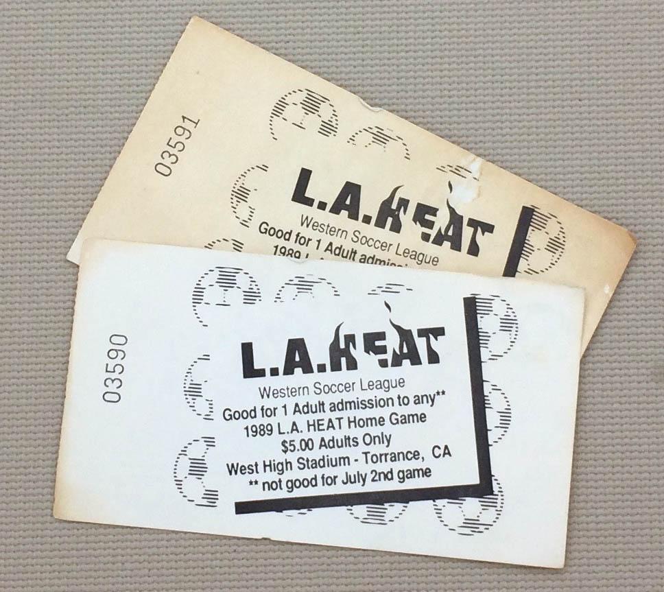 LA Heat 1989 Tickets