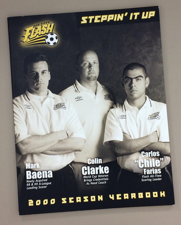 San Diego Flash 2000 Yearbook