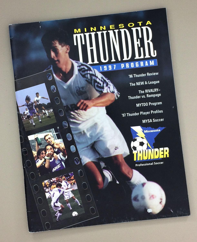 Minnesota Thunder 1997 Program