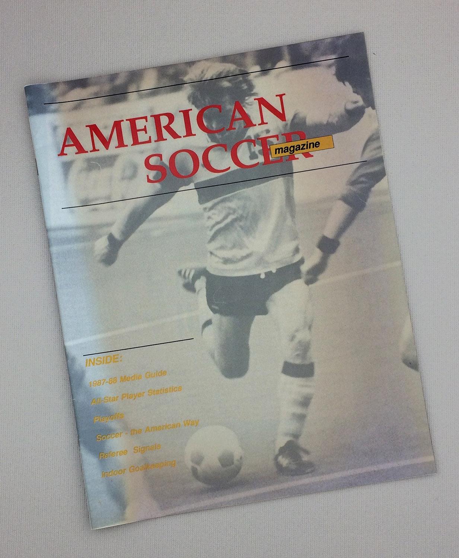 American Indoor Soccer Association 1986-87 Media Guide