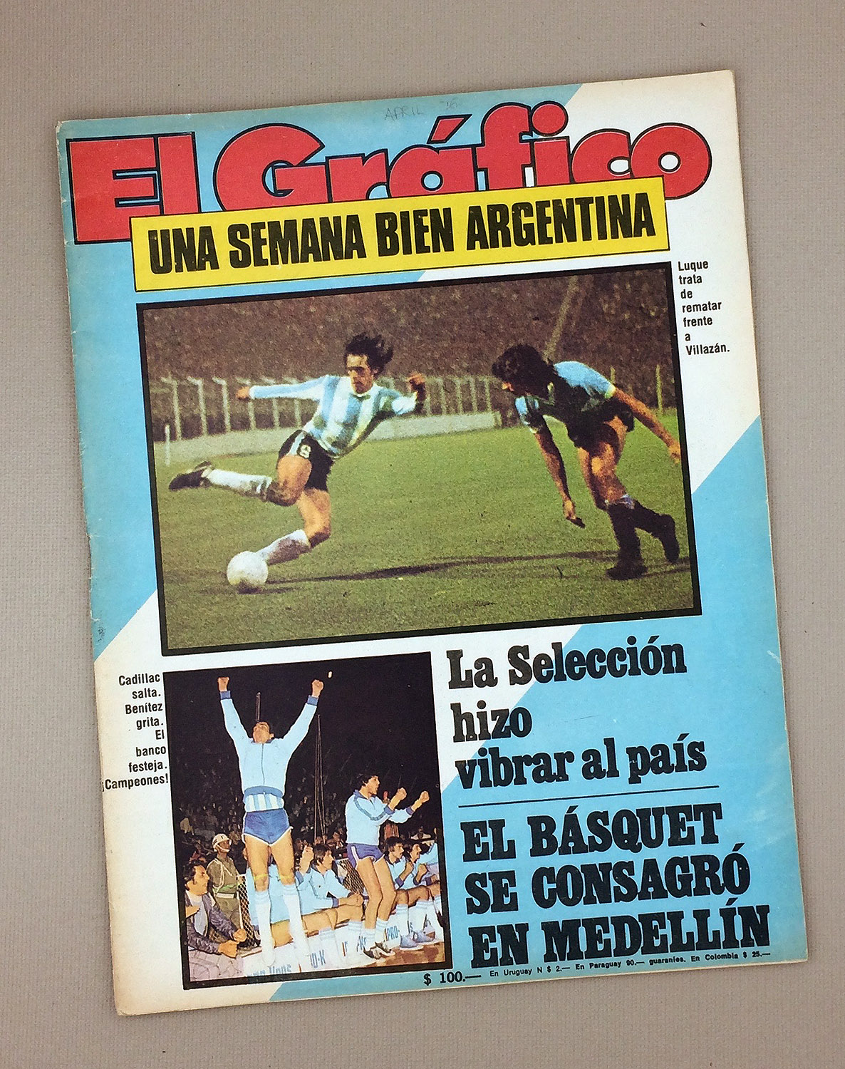 April 11th 1976 El Gráfico