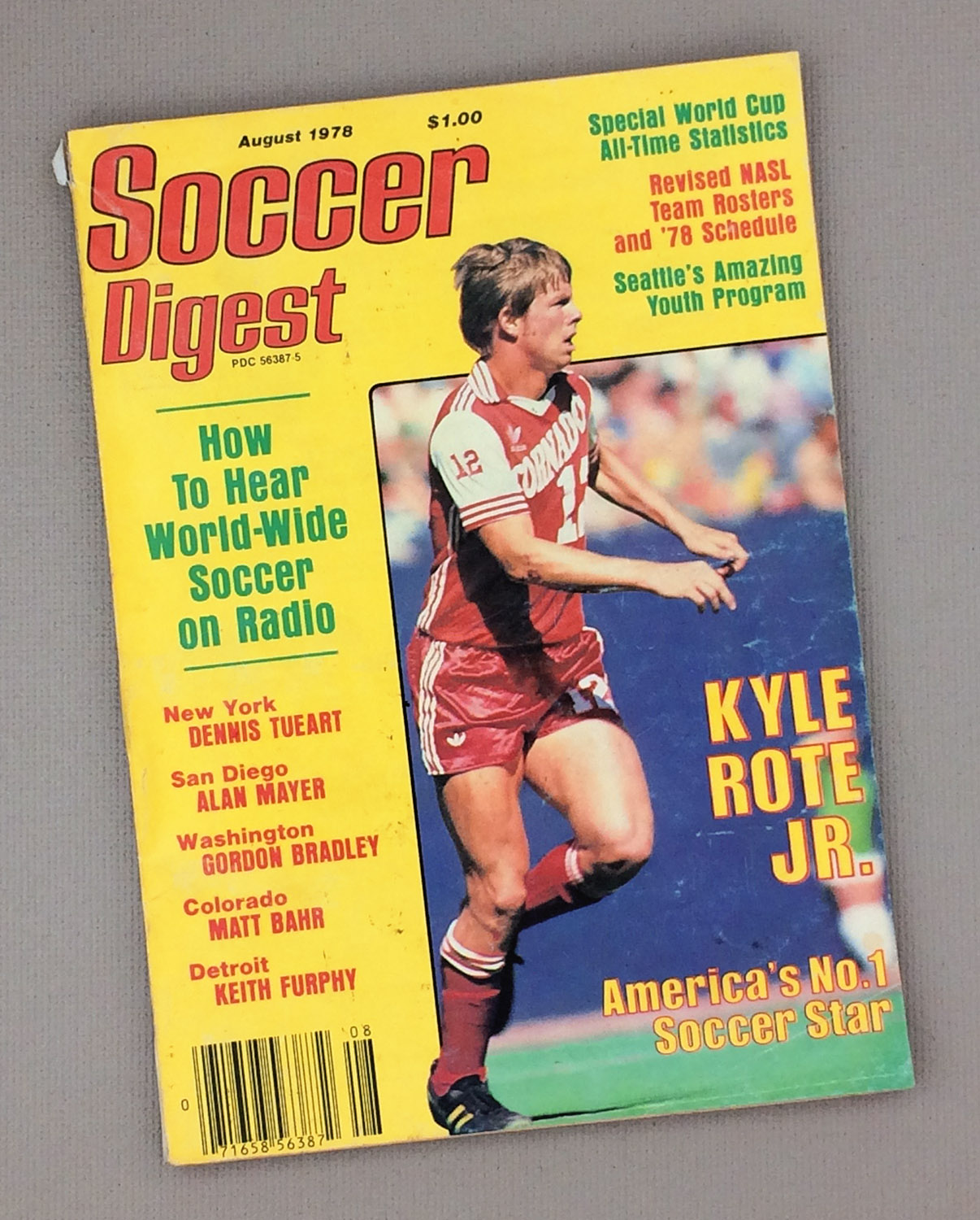 Soccer Digest August 1978