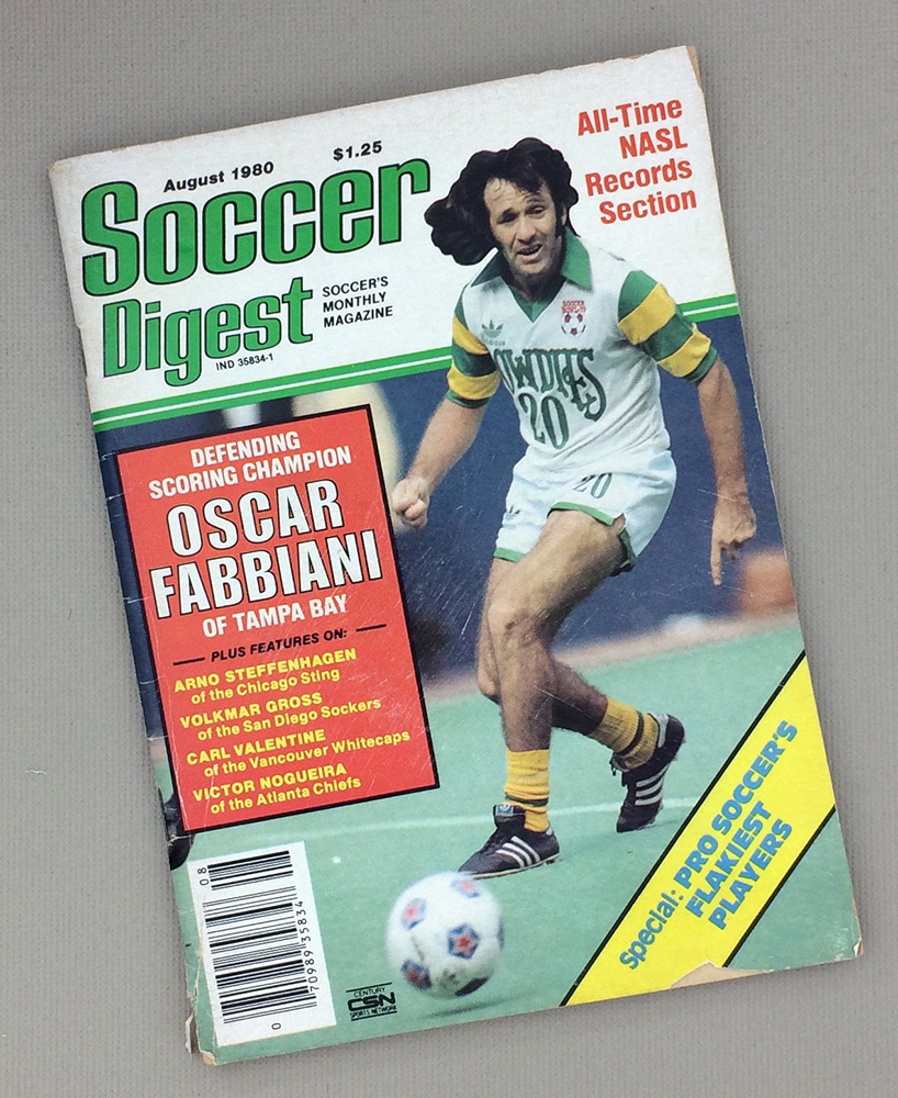 Soccer Digest August 1980