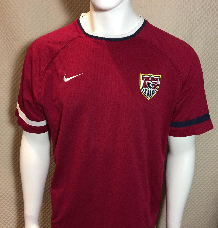US Soccer Maroon Jersey
