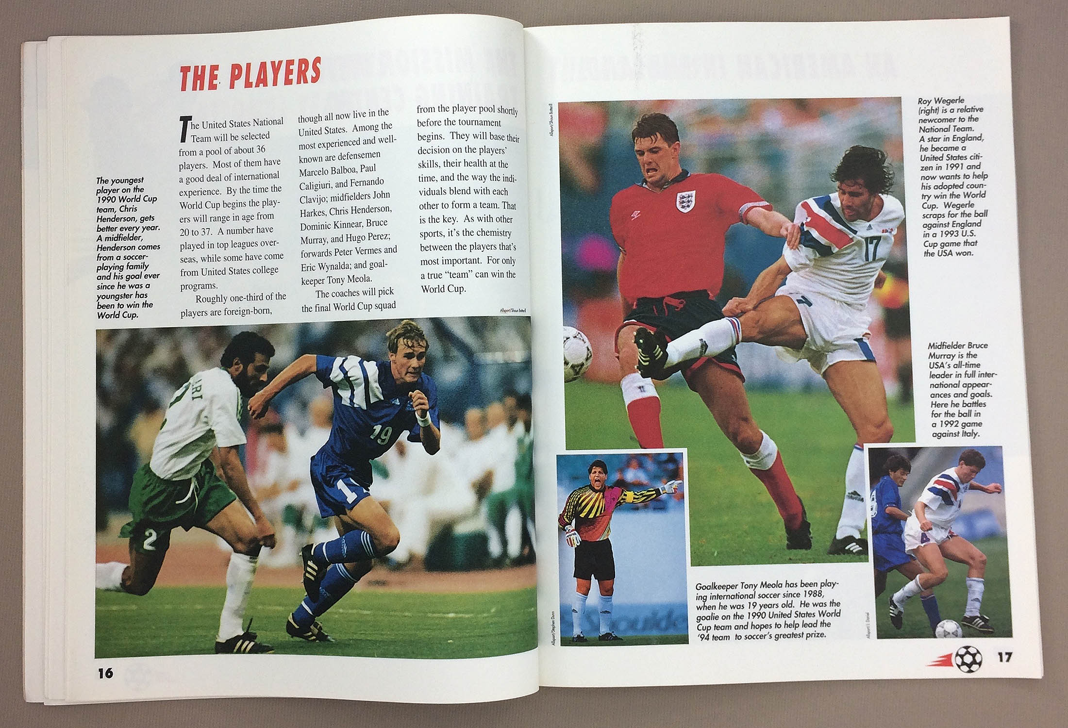 World Cup ?94 Action Guide by Bill Gutman