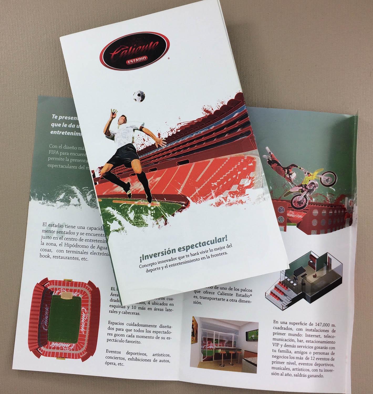 Estadio Caliente Suite Sales Brochure