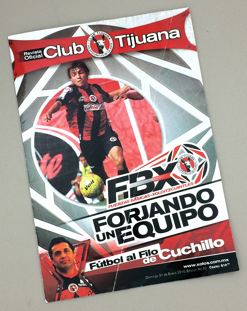 January 31st, 2010 Xolos Program