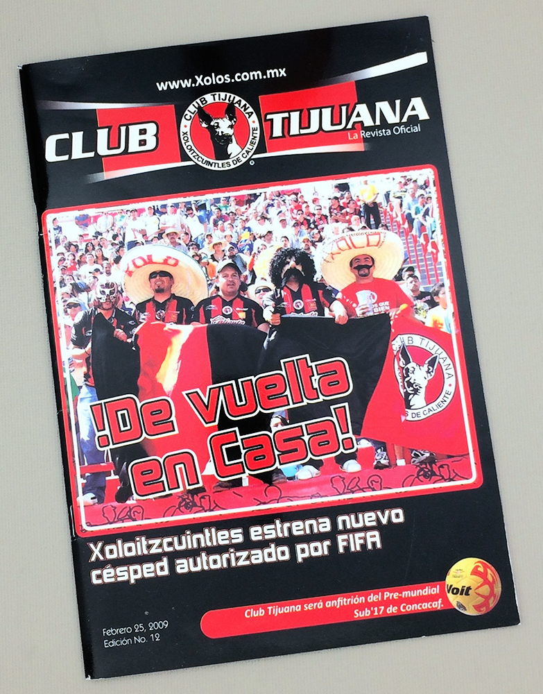 February 25th, 2009 Xolos Program