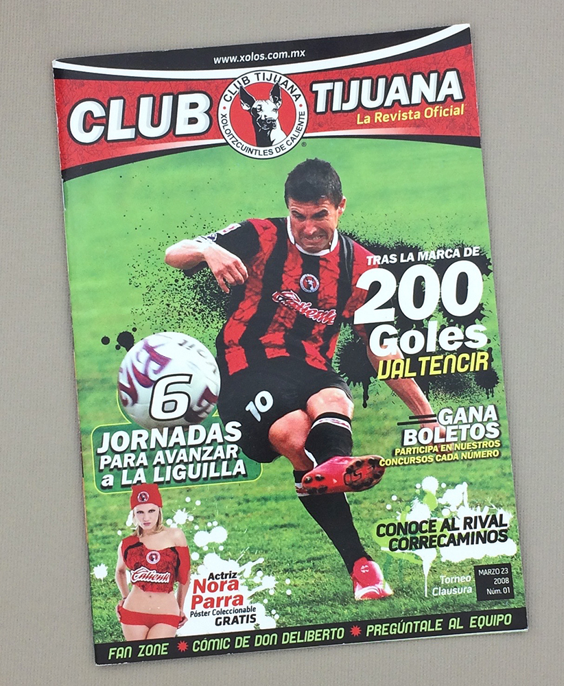 March 23rd, 2008 Xolos Program