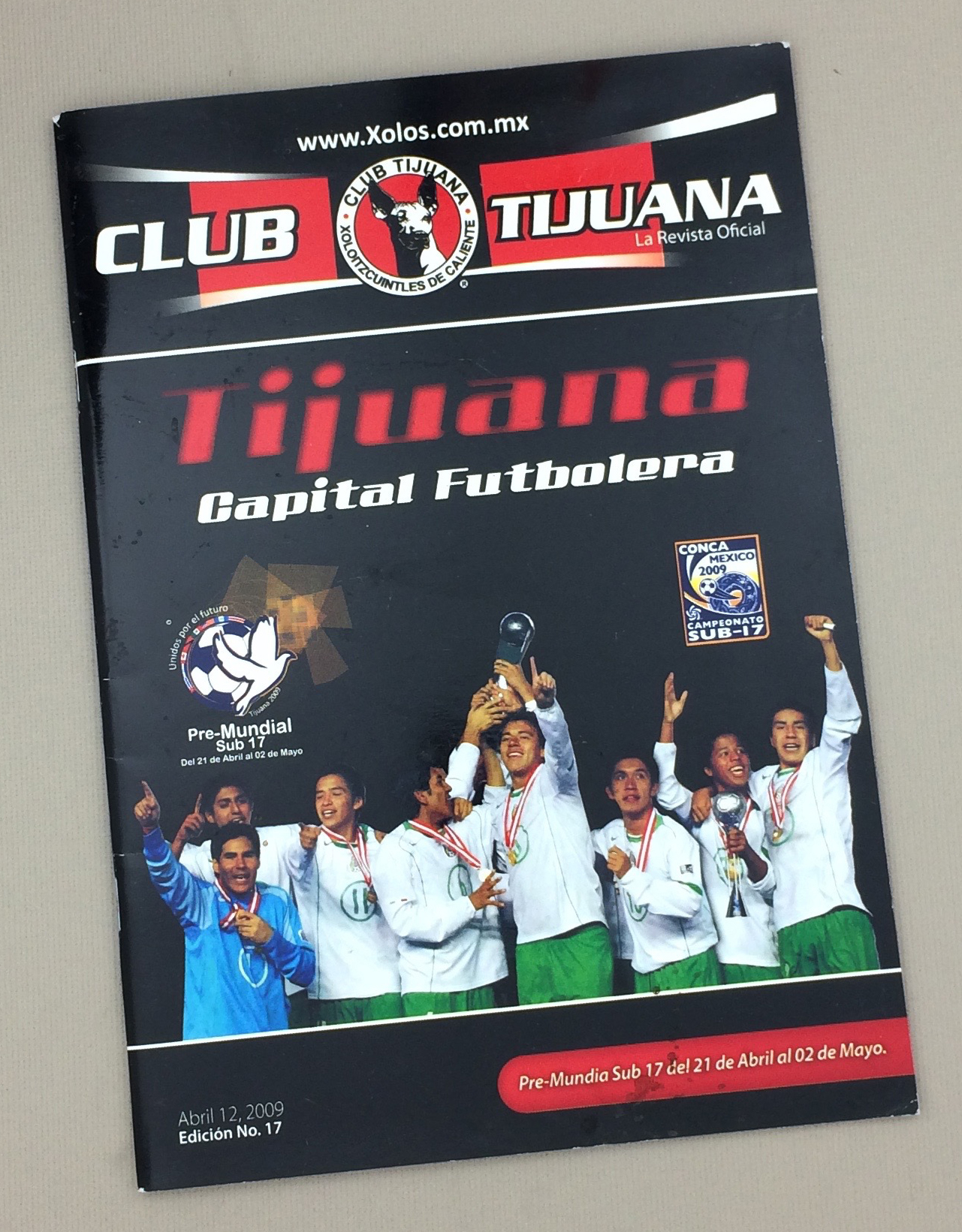 April 12th, 2009 Xolos Program