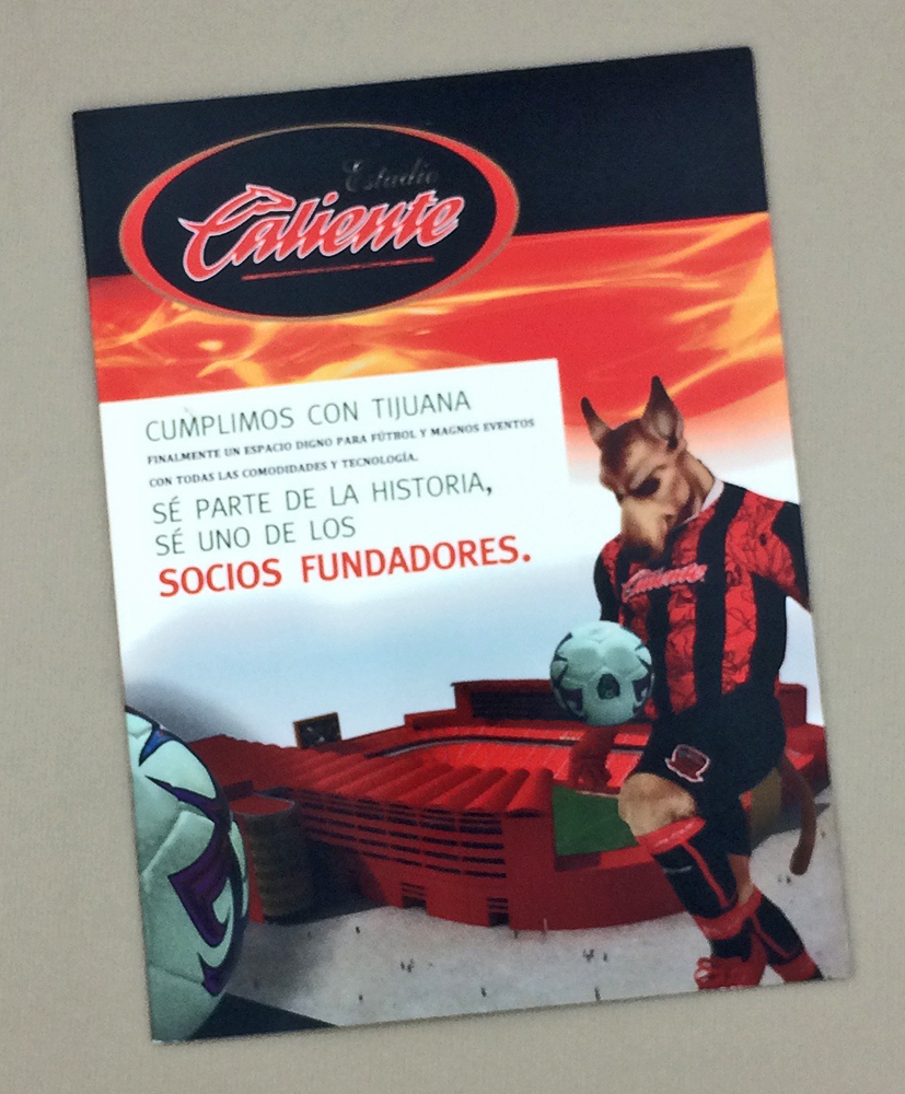2008 Xolos Estadio Caliente Sales Brochure