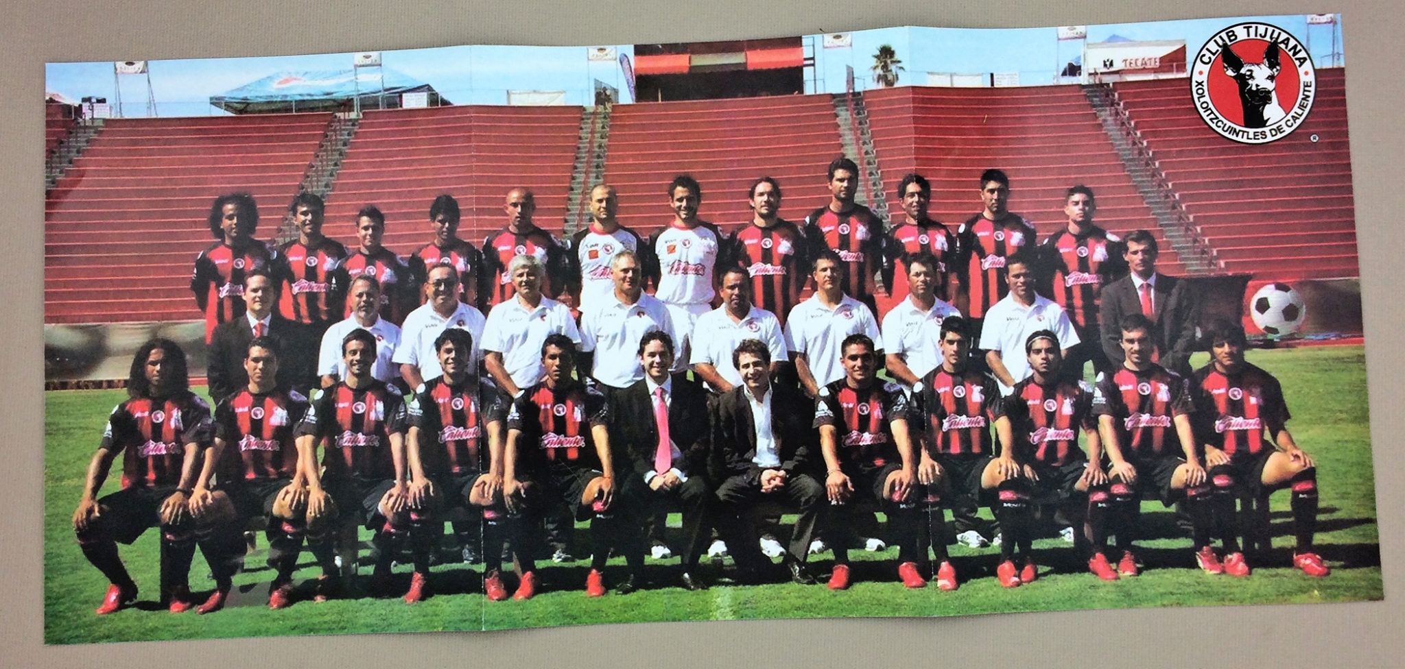 2008 Xolos de Tijuana Team Photo